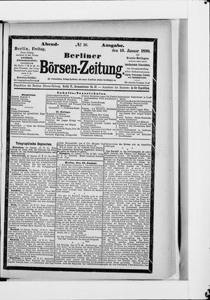 Berliner Börsen-Zeitung vom 10.01.1890