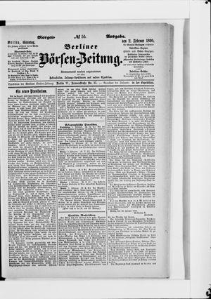 Berliner Börsen-Zeitung vom 02.02.1890