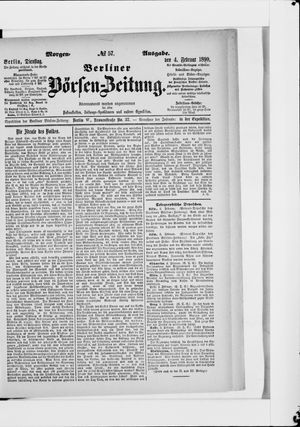 Berliner Börsen-Zeitung vom 04.02.1890