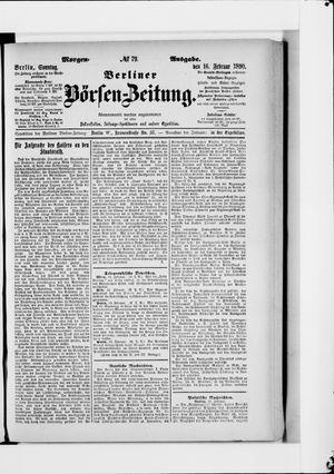 Berliner Börsen-Zeitung vom 16.02.1890