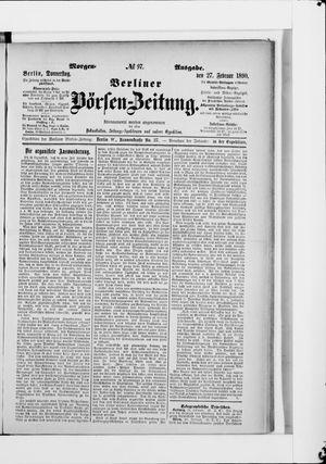 Berliner Börsen-Zeitung vom 27.02.1890
