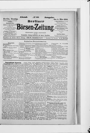 Berliner Börsen-Zeitung vom 04.03.1890