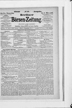 Berliner Börsen-Zeitung vom 06.03.1890
