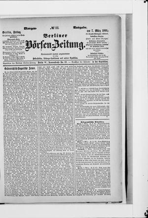 Berliner Börsen-Zeitung vom 07.03.1890