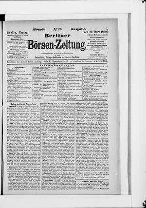 Berliner Börsen-Zeitung vom 10.03.1890