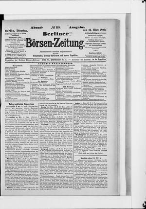 Berliner Börsen-Zeitung vom 11.03.1890