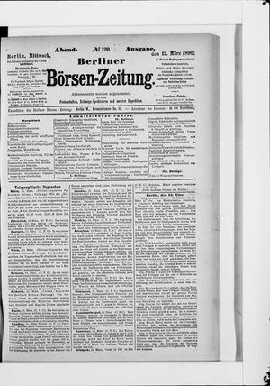 Berliner Börsen-Zeitung vom 12.03.1890