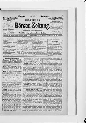 Berliner Börsen-Zeitung vom 13.03.1890