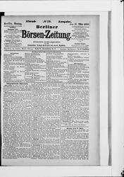 Berliner Börsenzeitung (17.03.1890)