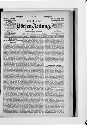 Berliner Börsen-Zeitung vom 18.03.1890