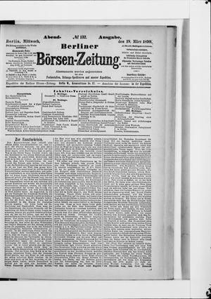 Berliner Börsen-Zeitung vom 19.03.1890