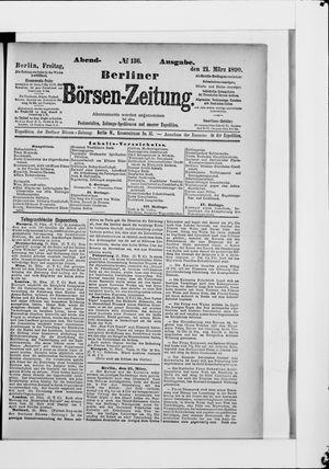 Berliner Börsen-Zeitung vom 21.03.1890