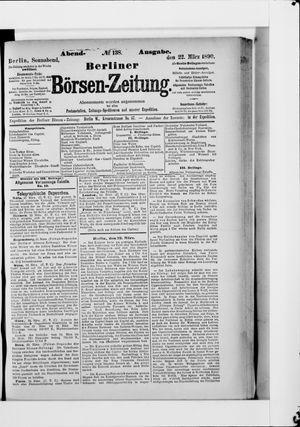 Berliner Börsen-Zeitung vom 22.03.1890