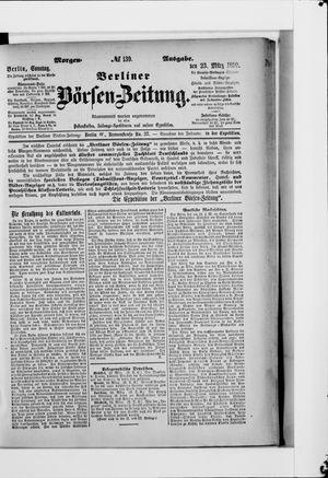 Berliner Börsen-Zeitung vom 23.03.1890