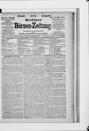 Berliner Börsen-Zeitung vom 24.03.1890