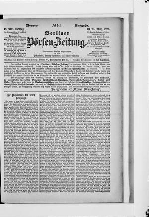 Berliner Börsen-Zeitung vom 25.03.1890