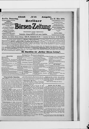 Berliner Börsen-Zeitung vom 27.03.1890