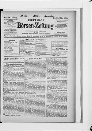 Berliner Börsen-Zeitung vom 28.03.1890
