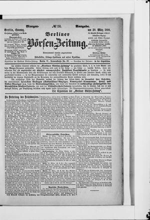 Berliner Börsen-Zeitung vom 30.03.1890