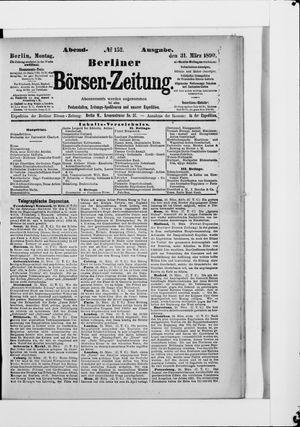 Berliner Börsen-Zeitung vom 31.03.1890