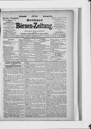 Berliner Börsen-Zeitung vom 05.04.1890