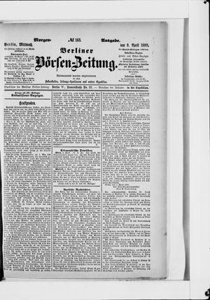 Berliner Börsen-Zeitung vom 09.04.1890