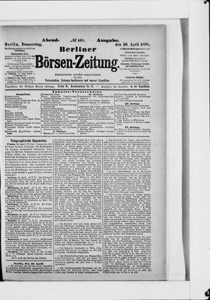 Berliner Börsen-Zeitung vom 10.04.1890