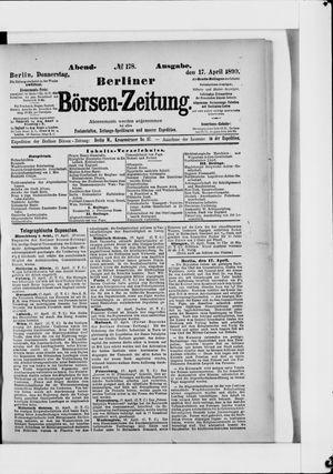 Berliner Börsen-Zeitung vom 17.04.1890
