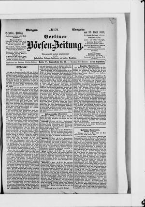 Berliner Börsen-Zeitung vom 18.04.1890