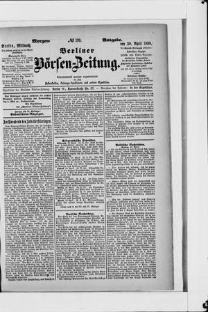 Berliner Börsen-Zeitung vom 30.04.1890