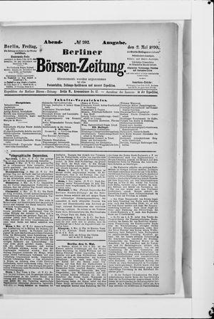 Berliner Börsen-Zeitung vom 02.05.1890