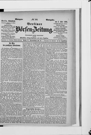 Berliner Börsen-Zeitung vom 03.05.1890