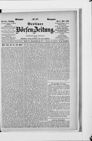 Berliner Börsen-Zeitung vom 06.05.1890