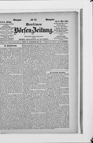 Berliner Börsen-Zeitung vom 09.05.1890