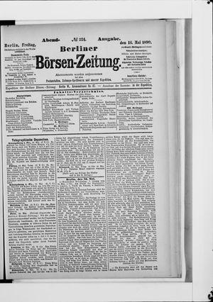 Berliner Börsen-Zeitung vom 16.05.1890