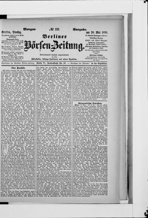 Berliner Börsen-Zeitung vom 20.05.1890