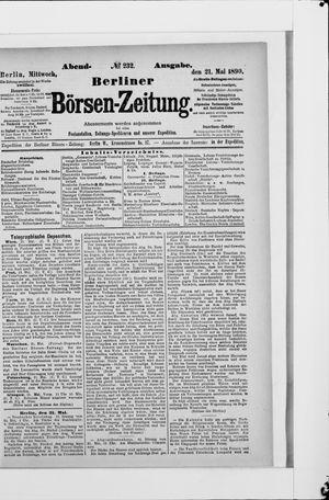 Berliner Börsen-Zeitung vom 21.05.1890