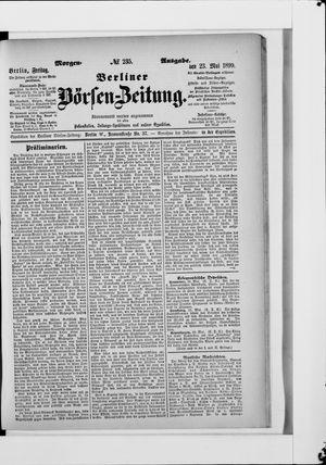 Berliner Börsen-Zeitung vom 23.05.1890