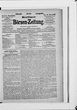 Berliner Börsen-Zeitung vom 31.05.1890