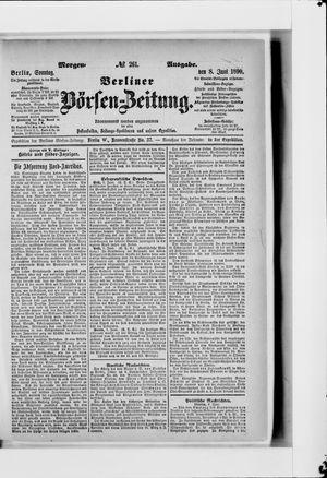 Berliner Börsen-Zeitung vom 08.06.1890