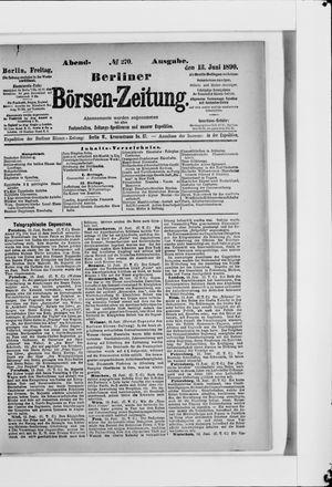 Berliner Börsen-Zeitung vom 13.06.1890
