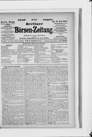 Berliner Börsen-Zeitung vom 16.06.1890