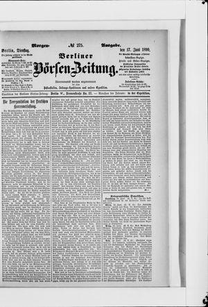Berliner Börsen-Zeitung vom 17.06.1890