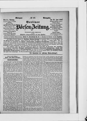 Berliner Börsen-Zeitung vom 29.06.1890