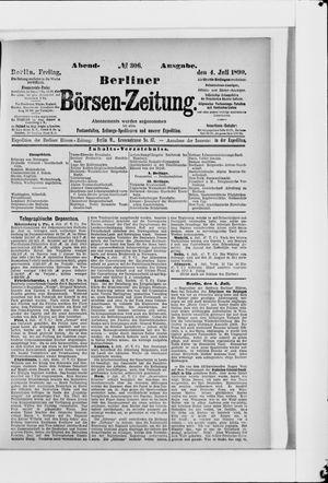 Berliner Börsen-Zeitung vom 04.07.1890