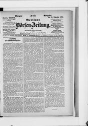 Berliner Börsen-Zeitung (15.11.1890)