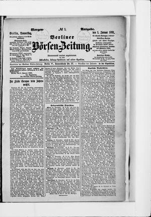 Berliner Börsen-Zeitung vom 01.01.1891