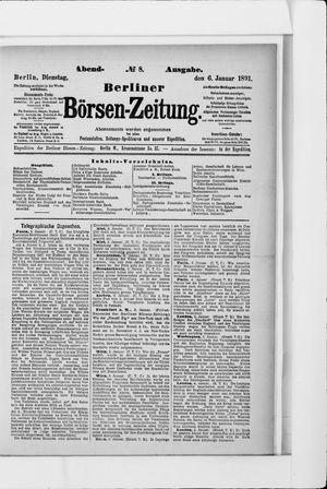 Berliner Börsen-Zeitung vom 06.01.1891