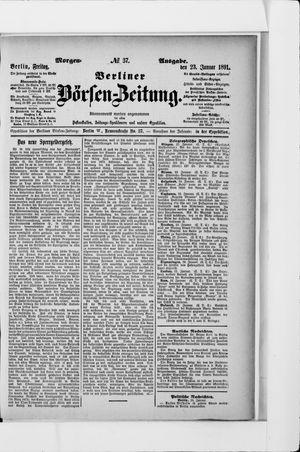 Berliner Börsen-Zeitung on Jan 23, 1891