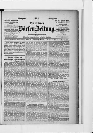 Berliner Börsen-Zeitung vom 31.01.1891
